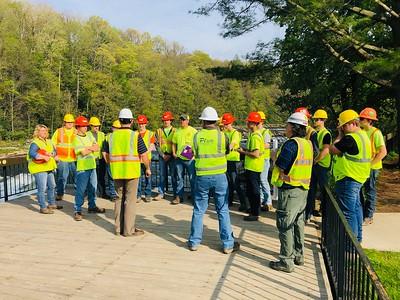 Plum Contracting  Job Site Field Trip