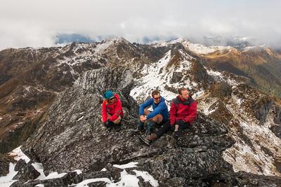 Mt Crosscut and Creighton Peak, 19-20 September 2020
