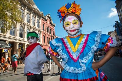Viva la Vida : Dia de Los Muertos Parade 2016