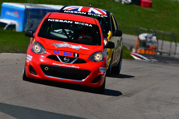 2019 Nissan Micra Cup Rounds 1 & 2 at CTMP