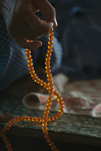 Prayer beads Burma