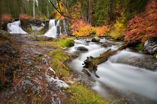 Oregon Waterfalls-By Lori