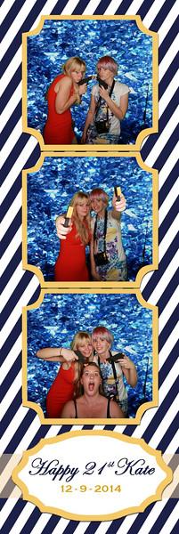 Kate's 21st Birthday Photobooth Prints