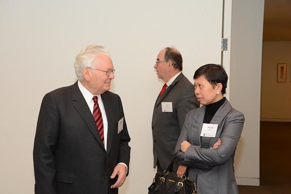 2015 Judge Buergenthal Scholars event