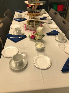 4.24.2019 - Headmaster's Tea with Seniors