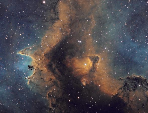 Nebulae in Color (Narrowband)