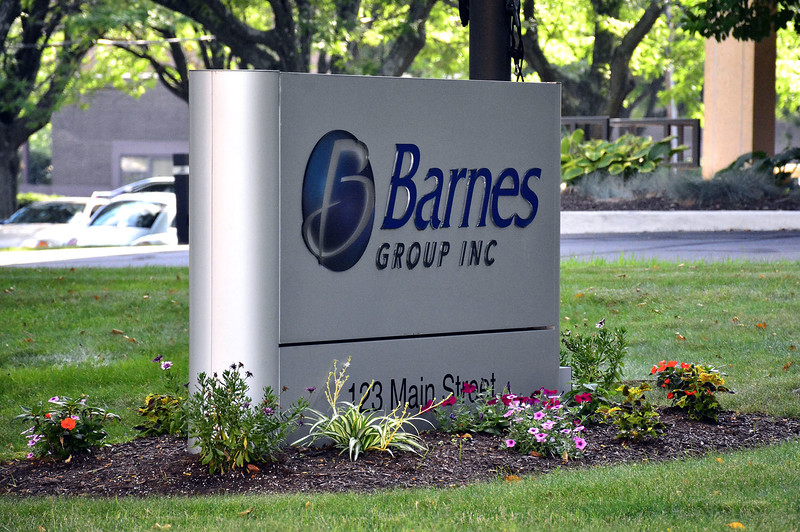7/23/2015 Mike Orazzi | Staff The Bristol-based Barnes Group is buying an Italian firm that specializes in plastic injection molding.