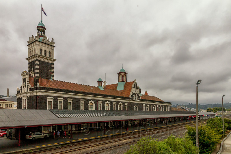 Dunedin Railway Station Platform