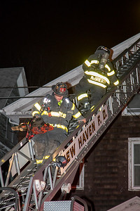 Ellsworth Ave. Fire (New Haven, CT) 3/3/18