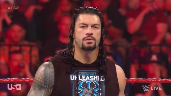 Roman Reigns - Screencaps Raw / May 20, 2019