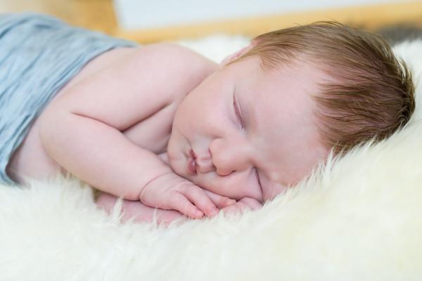 Zachary Newborn Photo Session