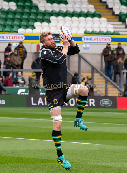 Northampton Saints vs Bristol Bears, Premiership Cup, Franklin's Gardens, 27 October 2018