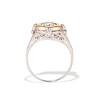 1.02ct Round Brilliant Diamond Bezel Ring 3