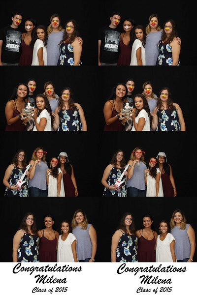 Milena Graduation Photo Booth