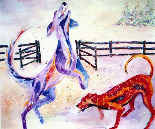 Carol Kanga:  Fine Art, KangaWorks Studio