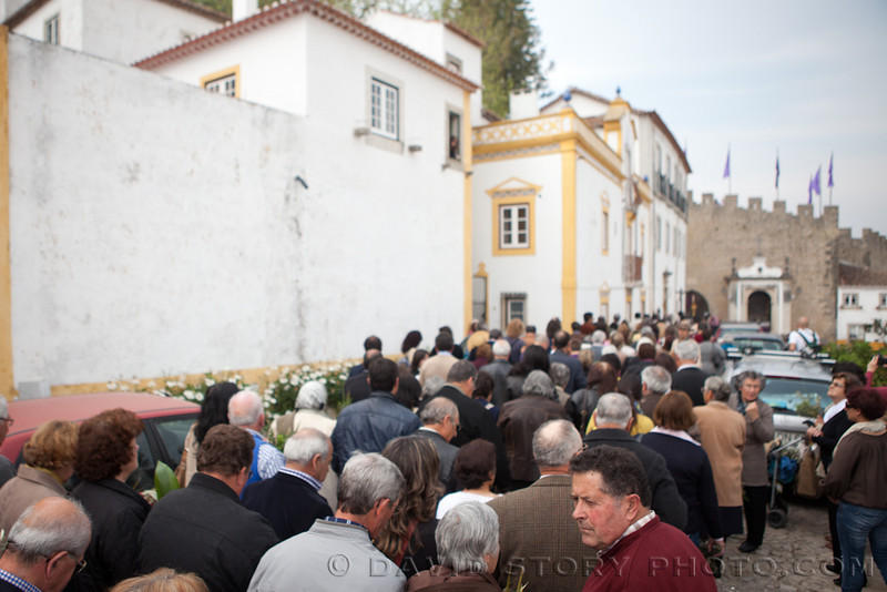 Easter procession. Obidos, Portugal.