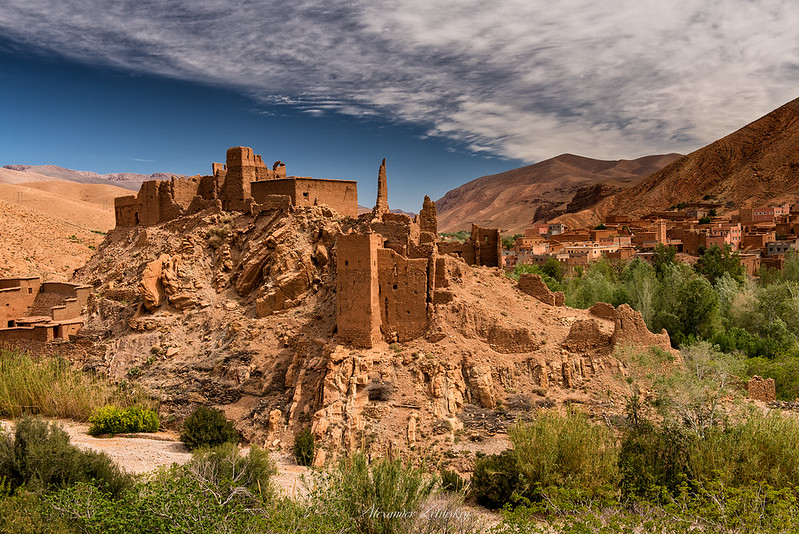 In the Atlas Mountains