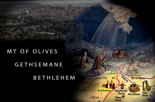 Israel 5 - Jerusalem, Mt of Olives, Bethlehem