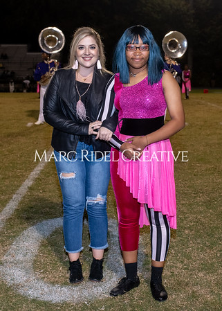 Broughton varsity football vs Cardinal Gibbons. Band and Dance Team Senior Night. October 25, 2019. MRC_3727