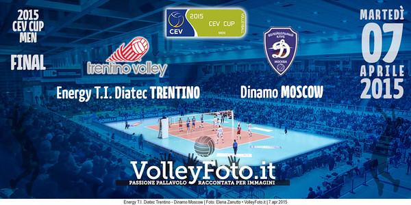 Energy T.I. Diatec Trentino - Dinamo Moscow | Finale Cev Cup