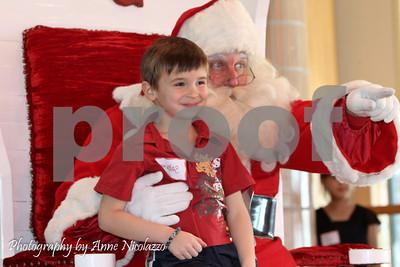 Santa Claus visits Lake St. Clair Metropark 2013