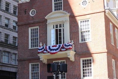 July 4 Boston  adventure