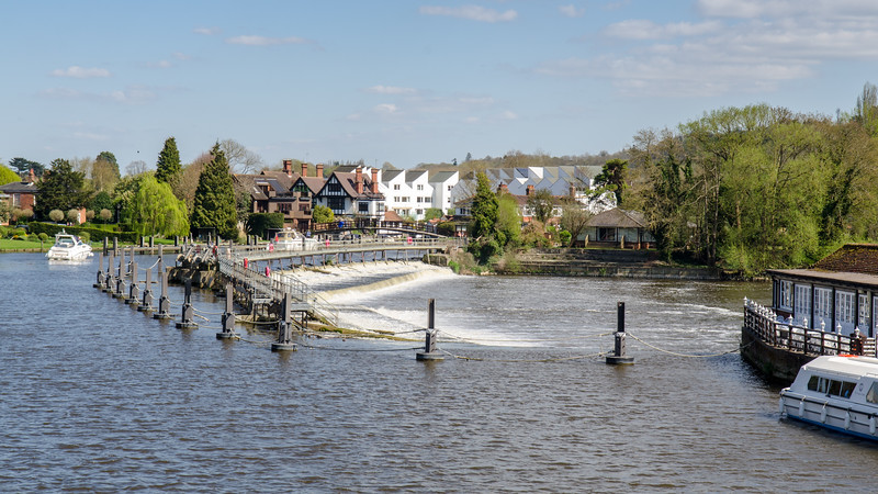 Marlow Weir on the Thames