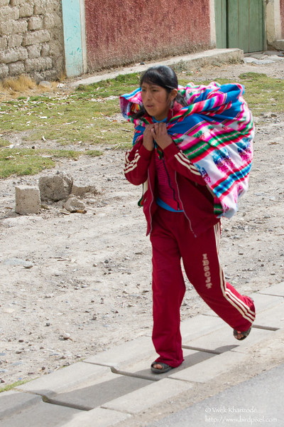 On way from Tambo-Blanquillo lodge to Cusco - Peru