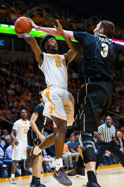 NCAA Basketball 2017: Vanderbilt vs Tennessee FEB 22
