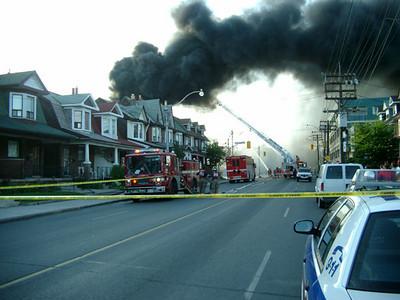 June 28, 2003 - 4th Alarm - 1050 Ossington Ave.