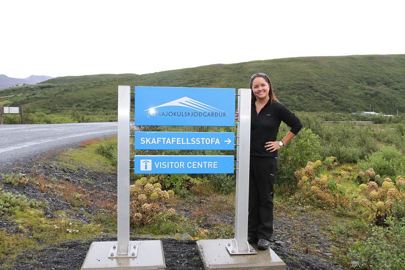 Brigitt I'd like to buy a vowel National Park in Iceland