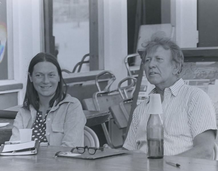 1974 - Phyllis Seidel & Max Steele.jpeg