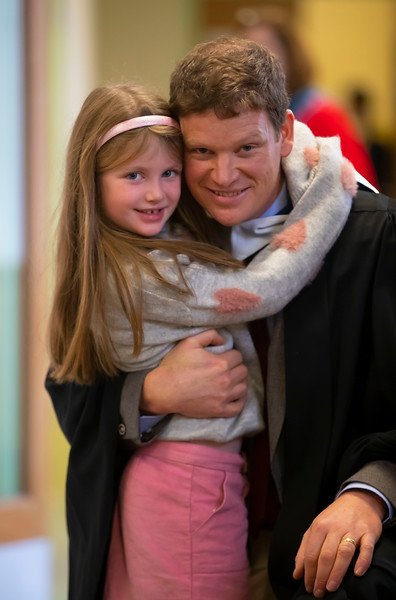 01/11/2019. Waterford Institute of Technology (WIT) Conferring Ceremonies. Pictured are John Byrne with his daughter Katie from Tinnahealy.. Picture: Patrick Browne