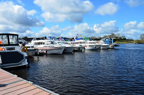 2012-03-16 Arthur with Cruising Club in Banagher for St. Patrick's w/e