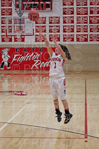 2/26/15 Eaton Varsity Girls Basketball vs Platte Valley