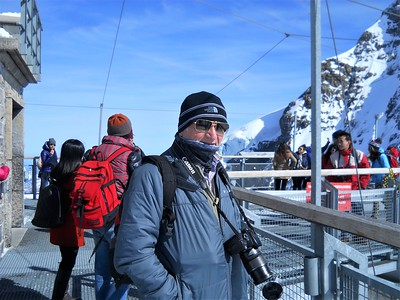 (Near) the top of the Jungfrau