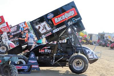 Bridgeport (NJ) Speedway - WoO 410 sprint cars and dirt Big Block Modifieds (5-18-21)