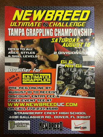 Newbreed Grappling Compitition