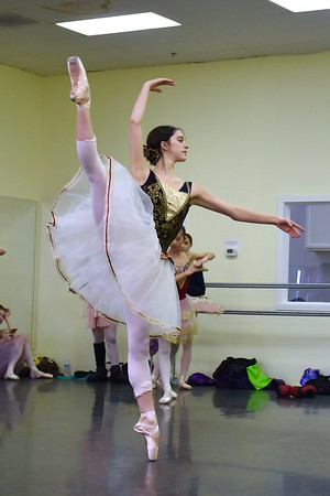 Campaneria Ballet Company In Studio Dress 12/16/17