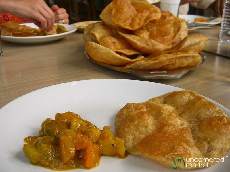 Breakfast in West Bengal, India