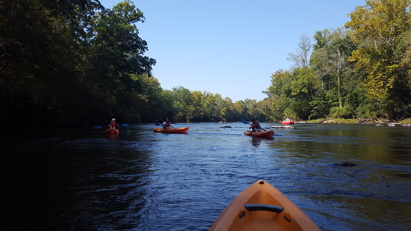 Saluda River Kayaking - 9-23-2017