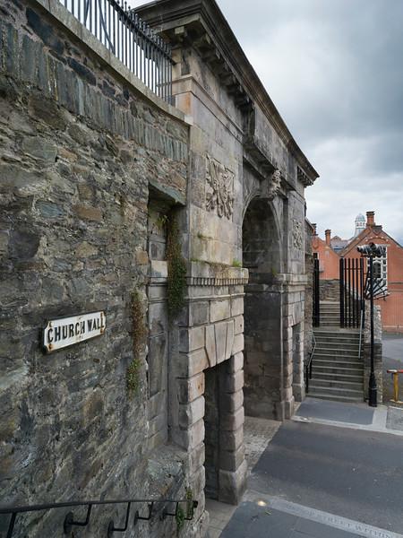 Old church walls, Londonderry, Northern Ireland, Ireland