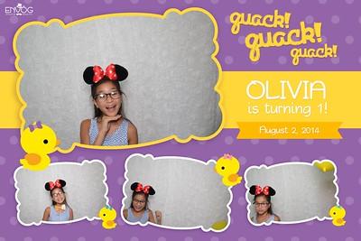 Olivia is Turning 1 (prints)
