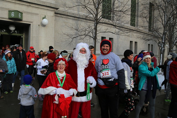 Jingle Bell Run 2017 - Chicago, IL