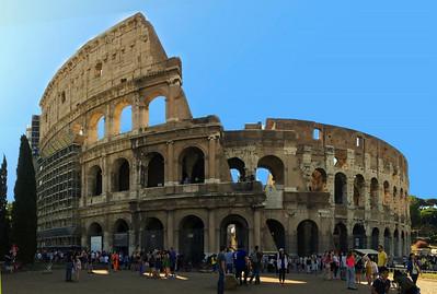 Europe -  Rome, Italy - July 11, 12