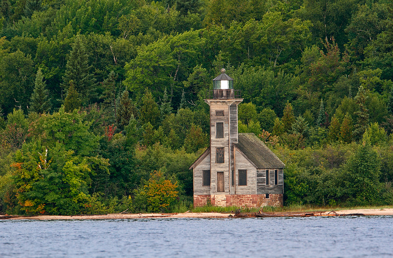Grand Island Lighthouse - Grand Island, MI