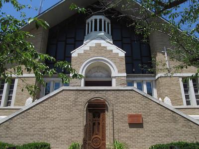 Church Renovation Progress 2012