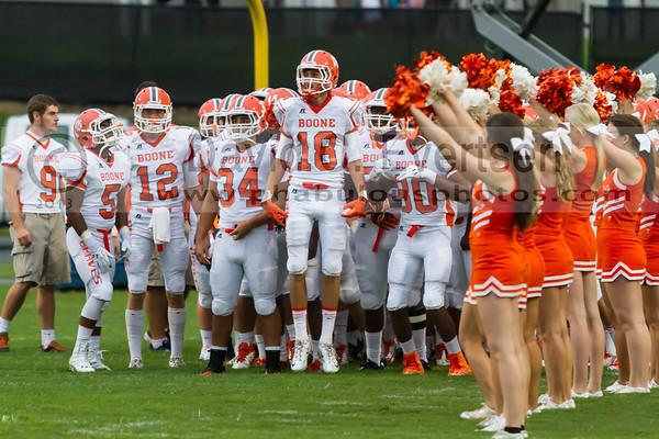 Boone Varsity Football #5 - 2013