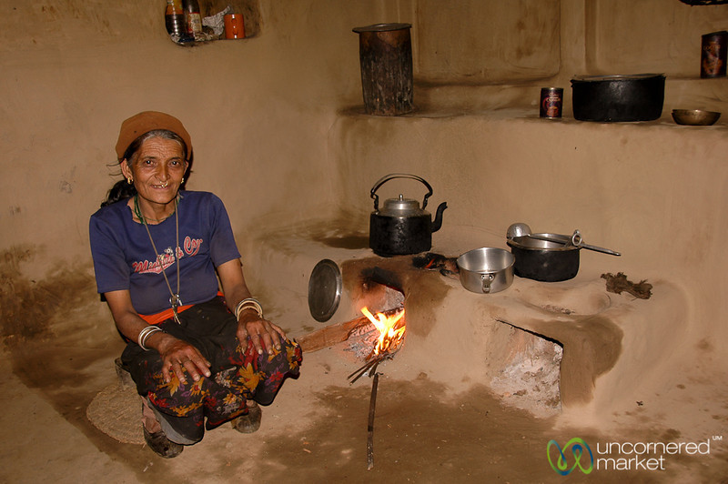Traditional Cooking Set Up in Sikkim