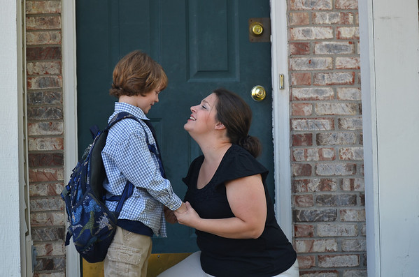 Dylan's First Day Kindergarten Olentangy Meadows